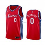 Philadelphia Sixers - Maillot NBA Josh Richardson 0 Rouge Statement 2019-2020