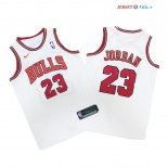 Chicago Bulls - Maillot Junior NBA Michael Jordan 23 Blanc