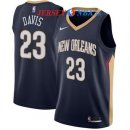 New Orleans Pelicans - Maillot NBA Anthony Davis 23 Marine Icon 2017/2018