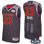 2017 All Star - Maillot NBA Anthony Davis 23 Charbon