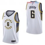 Indiana Pacers - Maillot NBA Cory Joseph 6 Blanc Association 2017/2018
