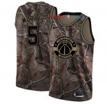 Washington Wizards - Maillot NBA Markieff Morris 5 Camo Swingman Collection Realtree 2018