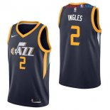 Utah Jazz - Maillot NBA Joe Ingles 2 Marine Icon 2017/2018