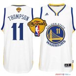 Golden State Warriors - Maillot NBA Thompson 11 Blanc Finales