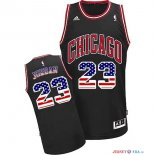 USA Flag Special Edition - Maillot NBA Jordan 23 Noir