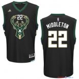 Milwaukee Bucks - Maillot NBA Khris Middleton 22 Noir