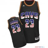 USA Flag Special Edition - Maillot NBA James 23 Noir