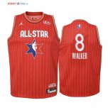 2020 All Star-Maillot Junior NBA Kemba Walker 8 Rouge