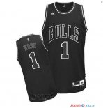 Chicago Bulls - Maillot NBA Derrick Rose 1 Noir