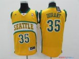 Seattle Supersonics - Maillot NBA Kevin Durant 35 Jaune