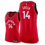 Toronto Raptors - Maillot Femme NBA Danny Green 14 Rouge Icon 2018