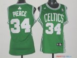Boston Celtics - Maillot Femme NBA Paul Pierce 34 Vert