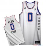 2015 All Star - Maillot NBA Kevin Love 0 Blanc