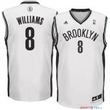 Brooklyn Nets - Maillot NBA Deron Michael Williams 8 Blanc