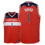 Washington Wizards - Maillot Junior NBA Austin Rivers 1 Rouge Icon 2018