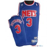 Brooklyn Nets - Maillot NBA Drazen Petrovic 3 Bleu