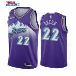 Utah Jazz - Maillot NBA Jeff Green 22 Pourprel Hardwood Classics 2019-20