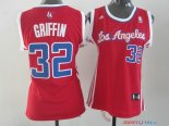 Los Angeles Clippers - Maillot Femme NBA Blake Griffin 32 Rouge