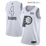 2018 All Star - Maillot NBA Victor Oladipo 4 Blanc