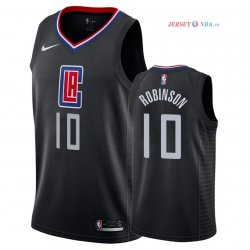 Los Angeles Clippers - Maillot NBA Jerome Robinson 10 Noir Statement 2018