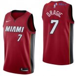 Miami Heat - Maillot NBA Goran Dragic 7 Rouge Statement 2017/2018