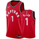 Toronto Raptors - Maillot NBA Patrick McCaw 1 Rouge Icon 2018/2019