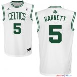 Boston Celtics - Maillot NBA Kevin Garnett 5 Blanc