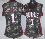 2013 Camouflage Fashion - Maillot Femme NBA Rose 1