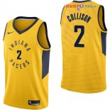 Indiana Pacers - Maillot NBA Darren Collison 2 Jaune Statement 2017/2018