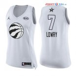 2018 All Star - Maillot Femme NBA Kyle Lowry 7 Blanc