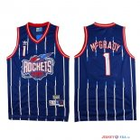 Houston Rockets - Maillot NBA Tracy McGrady 1 Retro Bleu
