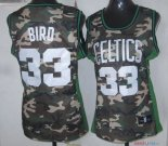 2013 Camouflage Fashion - Maillot Femme NBA Bird 33
