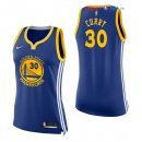 Golden State Warriors - Maillot Femme NBA Stephen Curry 30 Bleu Icon 2017/2018