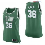 Boston Celtics - Maillot Femme NBA Marcus Smart 36 Vert Icon 2017/2018