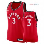 Toronto Raptors - Maillot Femme NBA OG Anunoby 3 Rouge Icon 2018