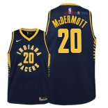 Indiana Pacers - Maillot Junior NBA Doug McDermott 20 Marine Icon 2018/2019