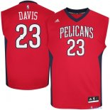 New Orleans Pelicans - Maillot NBA Anthony Davis 23 Rouge Manche Courte
