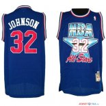 1992 All Star - Maillot NBA Joe Johnson 32 Bleu
