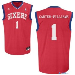 Philadelphia Sixers - Maillot NBA Michael Carter Williams 1 Rouge