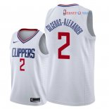 Los Angeles Clippers - Maillot NBA Shai Gilgeous Alexander 2 Blanc Association 2018