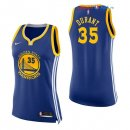 Golden State Warriors - Maillot Femme NBA Kevin Durant 35 Bleu Icon 2017/2018