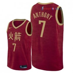 Houston Rockets - Maillot NBA Carmelo Anthony 7 Nike Rouge Ville 2018/2019