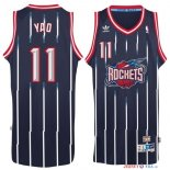 Houston Rockets - Maillot NBA Yao Ming 11 Retro Bleu
