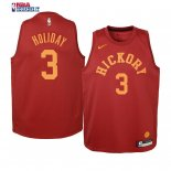 Indiana Pacers - Maillot Junior NBA Aaron Holiday 3 Retro Bordeaux