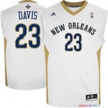 New Orleans Pelicans - Maillot NBA Anthony Davis 23 Blanc