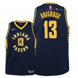 Indiana Pacers - Maillot Junior NBA Ike Anigbogu 13 Marine Icon 2018/2019