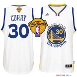Golden State Warriors - Maillot NBA Curry 30 Blanc Finales