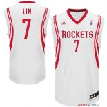 Houston Rockets - Maillot NBA Jeremy Lin 7 Blanc