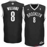 Brooklyn Nets - Maillot NBA Deron Michael Williams 8 Noir