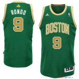 Boston Celtics - Maillot NBA Rajon Rondo 9 Vert Or